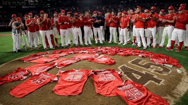 APTOPIX Mariners Angels Baseball