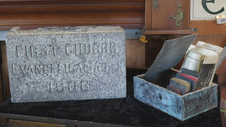 115-year-old time capsule discovered in Seattle church before it was demolished
