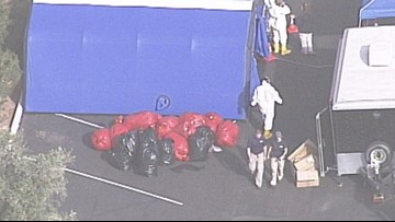 GRAPHIC: FBI finds bucket of heads and sewn together corpse at donation center