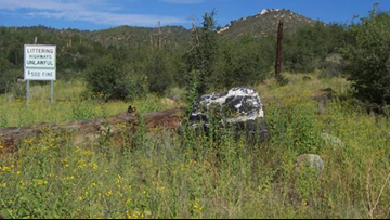 Forest officials seeking return of 1-ton 'Wizard Rock' that disappeared south of Prescott