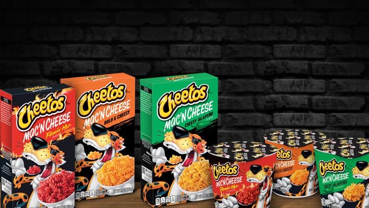 Cheetos-flavored mac 'n cheese coming soon