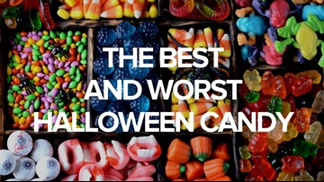 These are the best and worst candies for Halloween trick-or-treaters