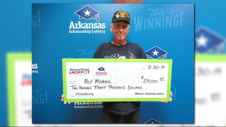 Veteran claims $230,000 in lottery jackpot