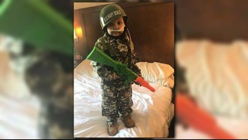 Family asks military service men, women to attend funeral of 5-year-old boy who wanted to be an Army man