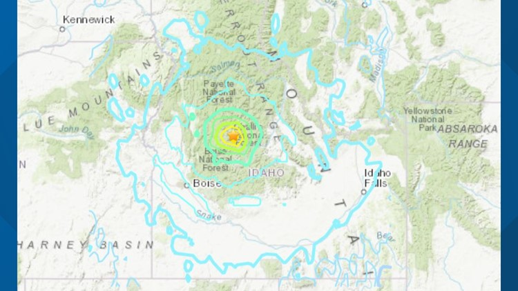 6.5 magnitude earthquake rattles Idaho and 6 surrounding states, more aftershocks expected