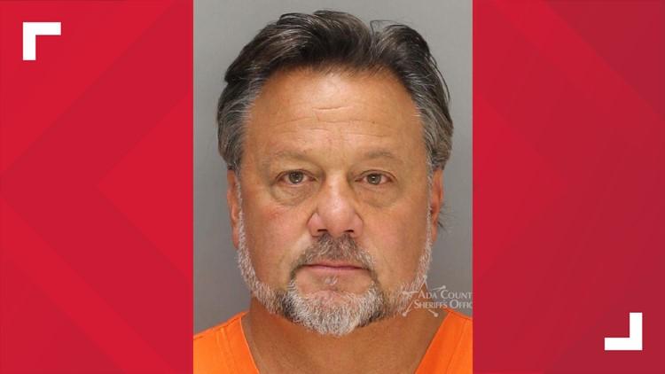 Todd Hamilton, 50, Meridian wine burglary mugshot