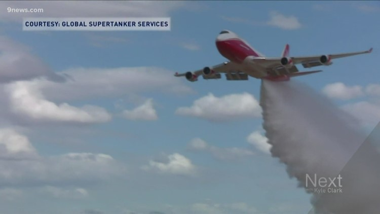 Colorado Springs-based supertanker helping battle Amazon rain forest fires