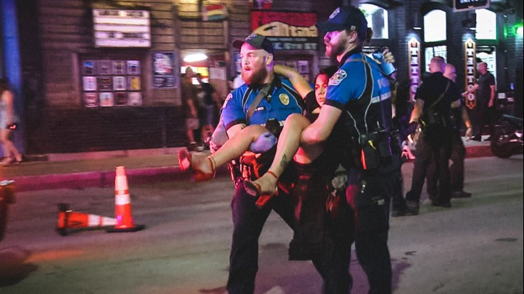'I don't really wish this upon anyone' | Downtown Austin mass shooting victim in powerful photo re-learning to walk