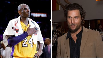 'Kobe reminded us all that we can work harder, get better': Matthew McConaughey reacts to Bryant's death