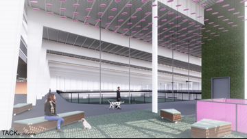 One of the largest indoor dog parks is coming to Austin