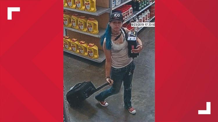 Walmart Arson/Shoplift Suspect 1