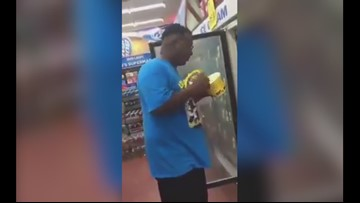 Midland Police react to viral videos of people licking ice cream