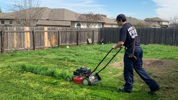 'Nicest thing I've ever seen' | Firefighters finish mowing man's lawn after he was sent to the hospital