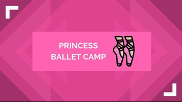 Library hosts princess ballet camp for the little princesses of West Texas