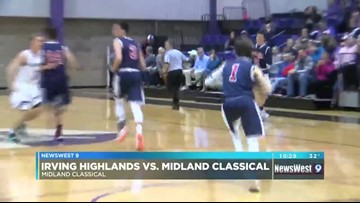 02/19: Girl's Basketball - HIGHLANDS VS MIDLAND CLASSICAL