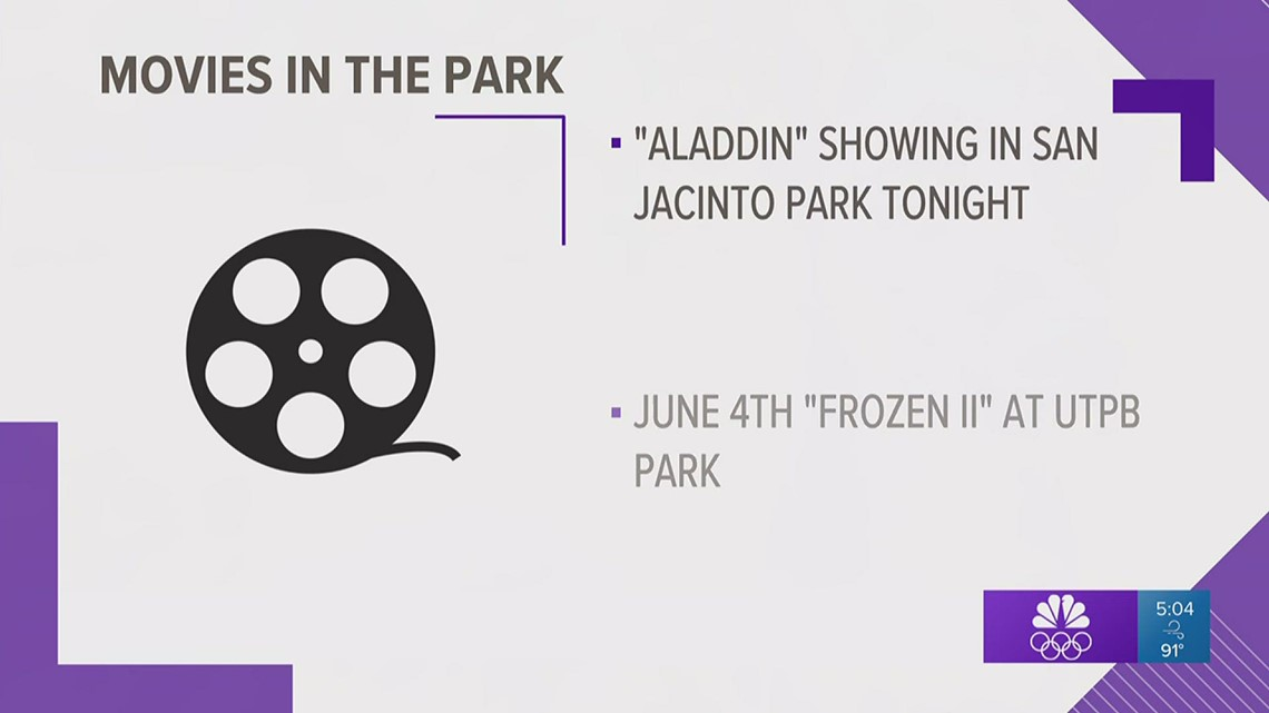 Movies in the Park returns to Odessa