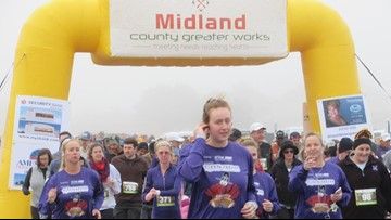 Annual Turkey Trot run benefits Midland County Greater Works