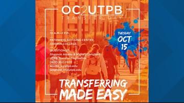 Free applications, pop-up advising set for OC2UTPB Transfer Day