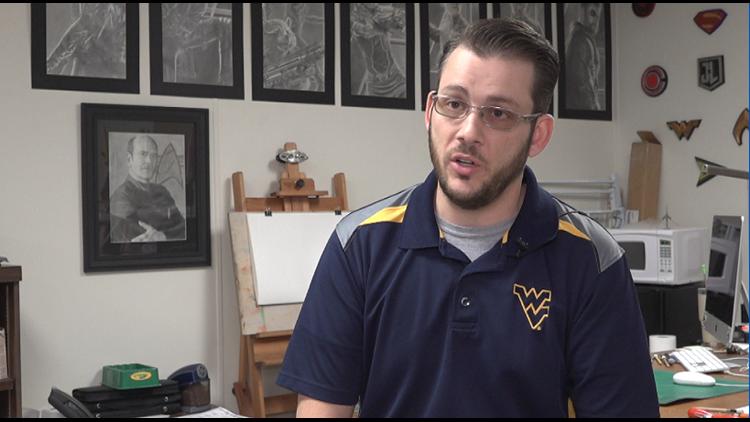 Adam Cross- Art teacher at Compass Academy Charter School
