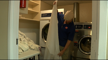 Salvation Army shelters those in need during freezing weather