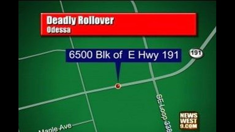 Man Killed in Overnight Rollover Accident
