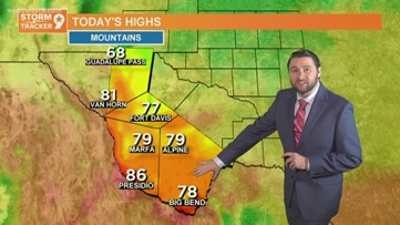 Morning Weather 3/16/2020