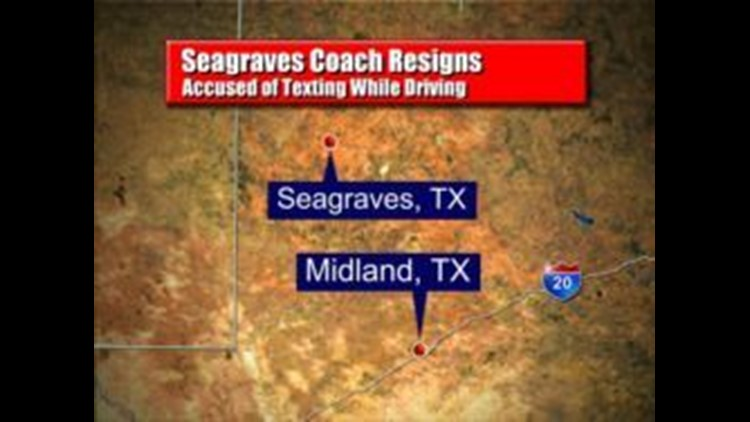 Seagraves Coach Resigns