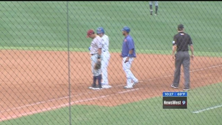 RockHounds win in last at bat | newswest9 com