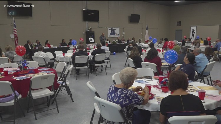 Hispanic Heritage of Odessa holds lunch to honor veterans