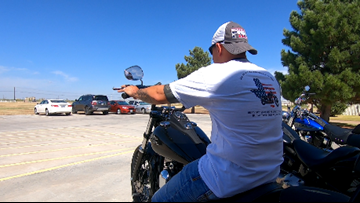 'Ride to Heal' flags headed to El Paso first responders