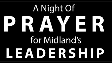 Community holds mobile prayer vigil for Midland leadership