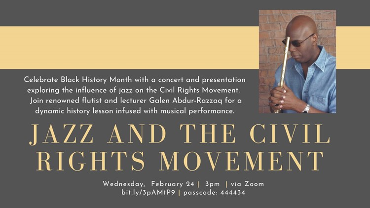 Midland County Public Libraries hosts Black History Month concert and presentation