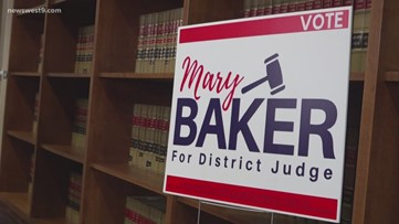 Mary Baker running for Midland County 142nd District Judge