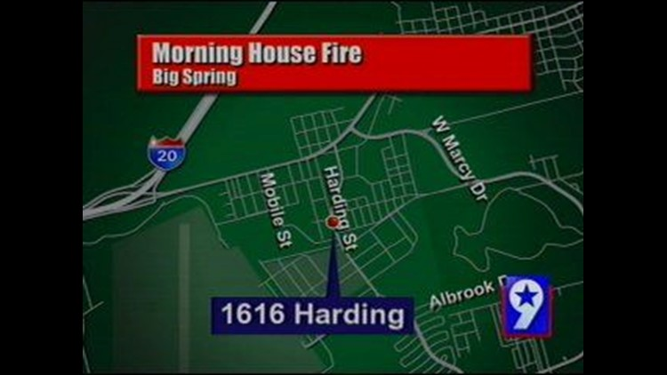 Big Spring Woman Recovering After House Fire in Big Spring