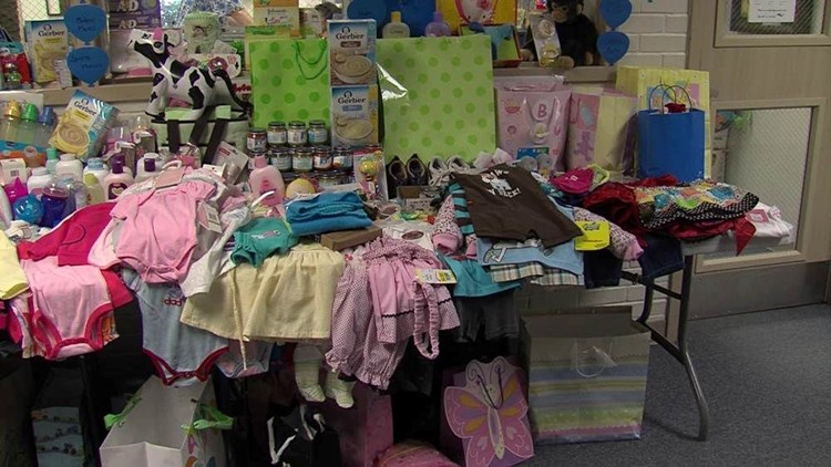 Anson Jones Students Collect Baby Items for Family Promise of Midland