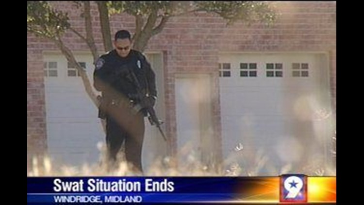 Standoff Situation Ends Peacefully in Midland