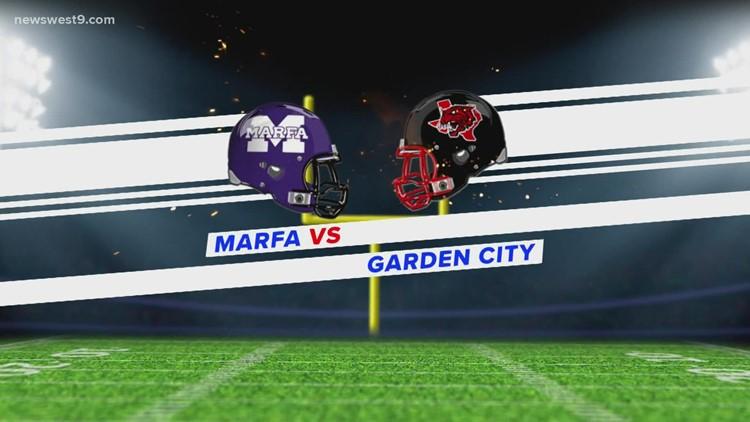 Week 8 | Garden City vs. Marfa