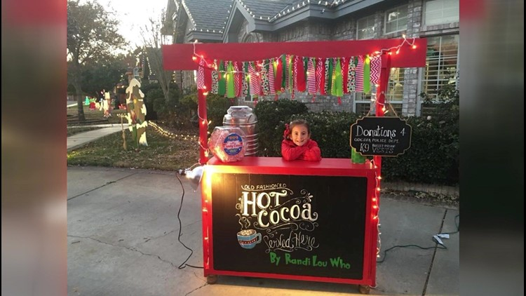 Odessa girl sells hot chocolate to benefit OPD K-9's, raises over $7,000