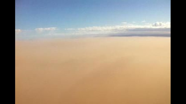 Dust Storm Covers Permian Basin