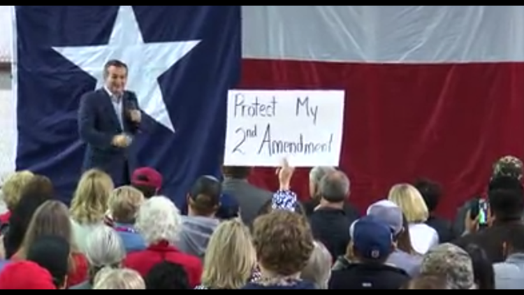Sen  Ted Cruz visits the Permian Basin as Election Day