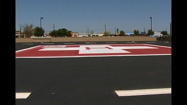 New Helicopter Pad For ORMC