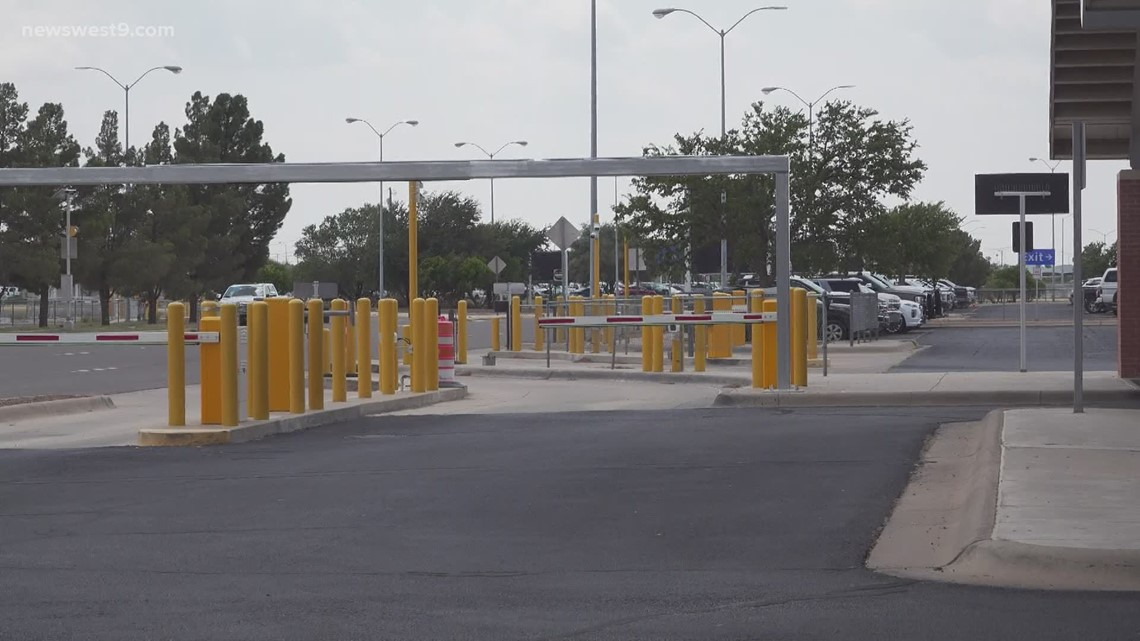 Midland International Air and Space Port prepares to open new parking lots