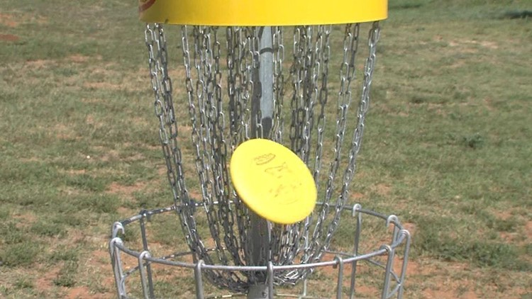 New Disc Golf Course in Andrews Bringing People From Out of Town
