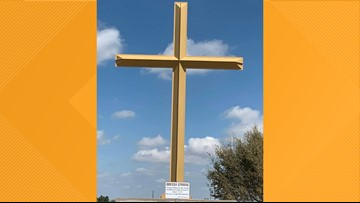 Cross honors those impacted by Midland-Odessa shooting