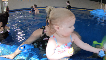 Classes teach summer swim safety for infants
