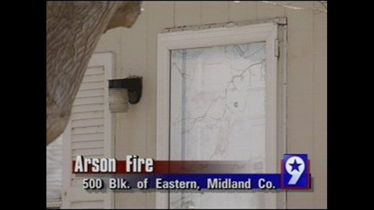 Midland Man Behind Bars After Setting Fire to a House