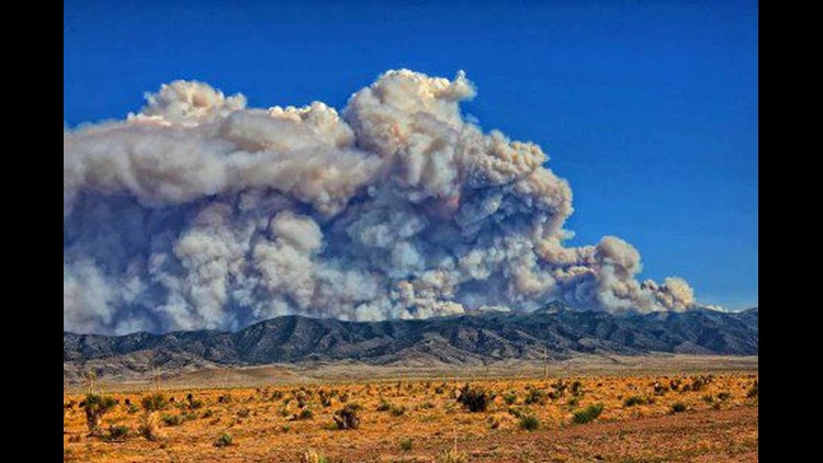 Little Bear Fire 60 Percent Contained