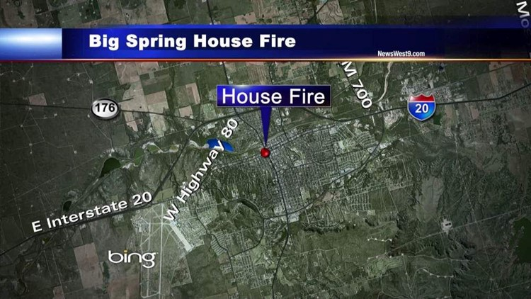 Electrical Problem to Blame for House Fire in Big Spring