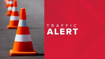 Traffic Alerts for the week of March 30