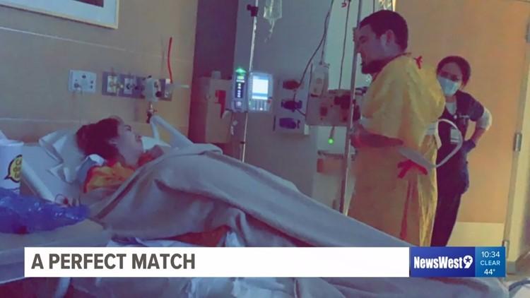 A perfect match: Midland woman donates kidney to husband